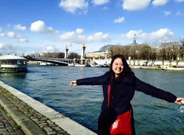 ヨーロッパ旅行での筆者