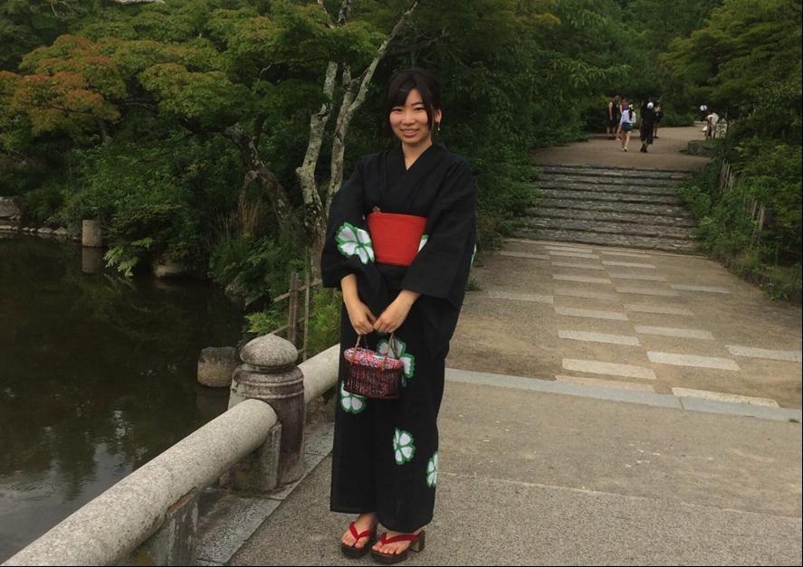 京都を浴衣で観光