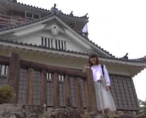 寺社仏閣と記念撮影