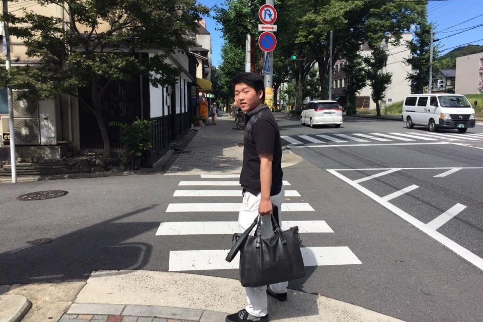 興味を追求しにはるばる京都へ!