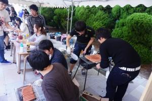 【花園大学京花祭】山岳部の露店で4000円のエベレスト盛りが売られてた
