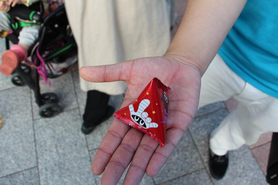 【京都外国語大学・短期大学 外大祭】外大はハロウィンムード!季節外れのアレも!?