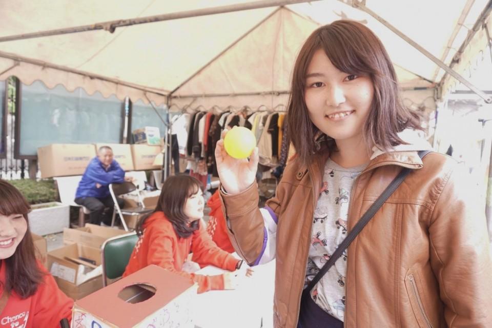 【京都女子大学 藤花祭 第2弾】たべてあそんで福引に挑戦!