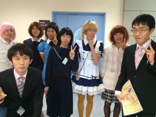 【京都大学 11月祭】NFの面白企画 ~持久走同好会かもかもによる女装喫茶シンデレラ~