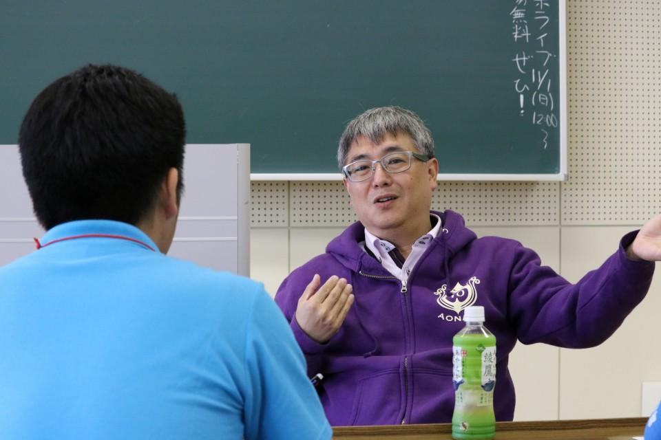 【学びフォーラム2015】講義後の先生に突撃!~「校則」ってなんのためにあるの?~