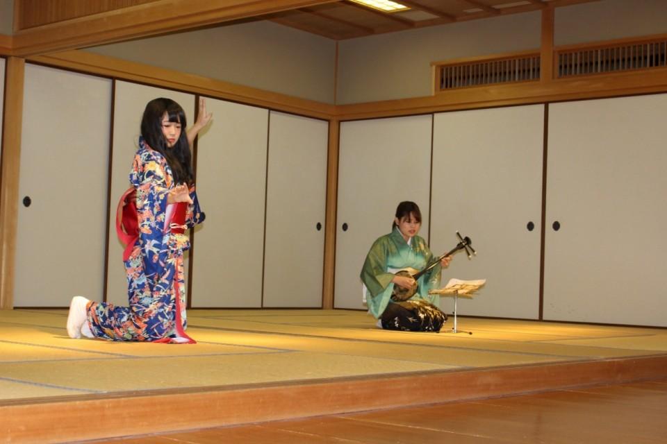 池坊短期大学,大学祭,日本舞踊,三味線