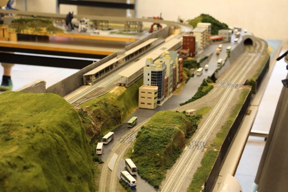 立命館,鉄道研究会,鉄道模型,展示