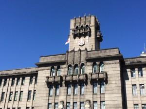 京都市役所です。素敵ですね