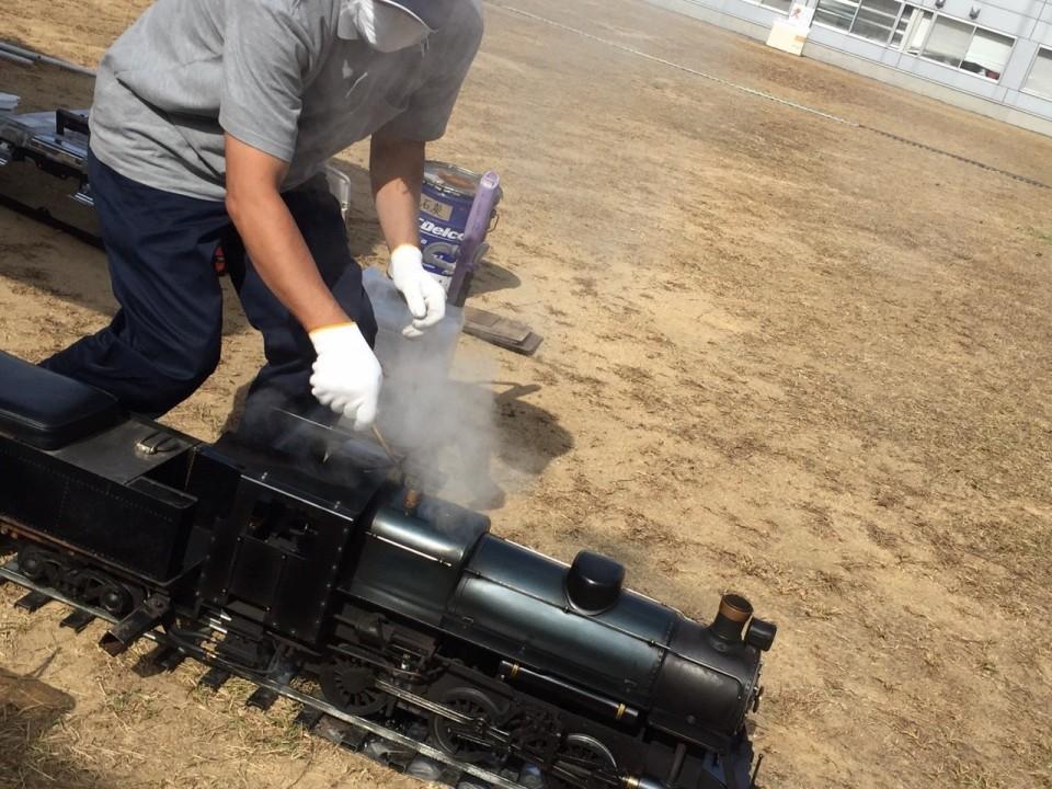 文教、小型機関車