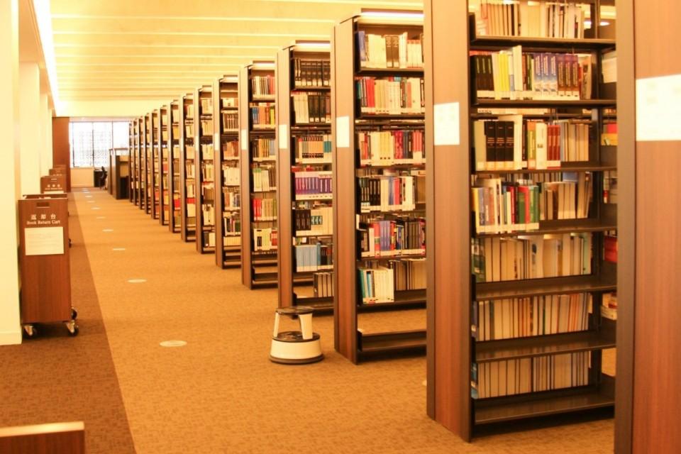 立命館,図書館,平井嘉一郎,書架,棚,資料,白川静,加藤周一