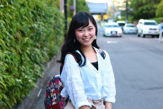 同志社大学今出川キャンパス周辺で学生ファッションスナップ!
