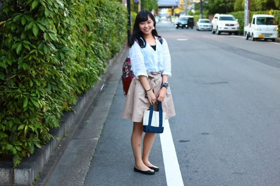 同志社大学 今出川キャンパスで学生ファッションスナップ!