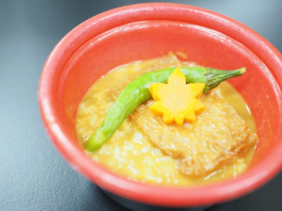 京都の食材にこだわった和風「古都カレー」を販売します!