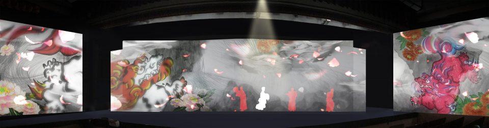 ICT歌舞伎の様子