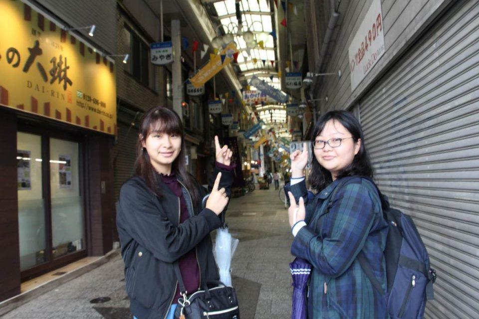 京都学生広報部の二人