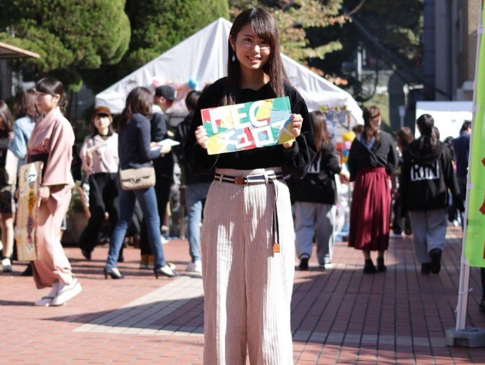 京都女子大学宗教教育部「REC」の学生