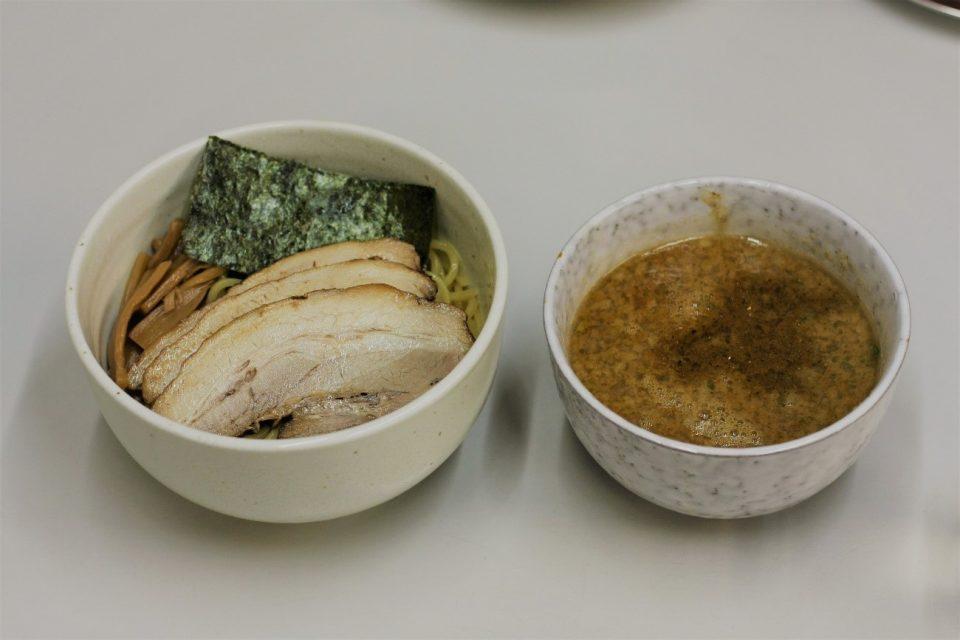 京都のラーメン屋「タンポポ」のつけ麺
