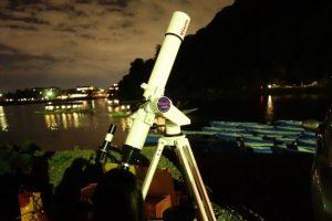 スターパーティーこと天体観測の様子