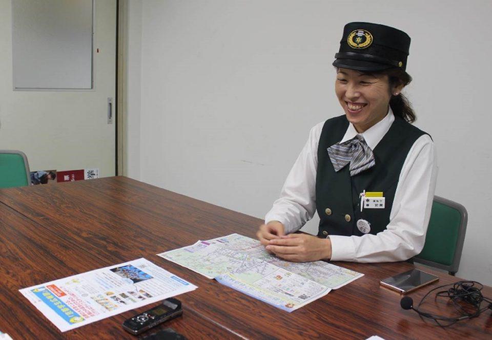 京都市バス乗務員の東宏美さん
