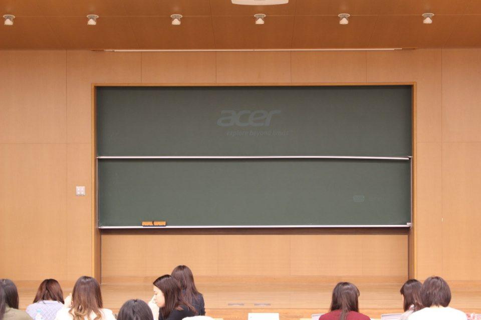 京都女子大学の大講義室