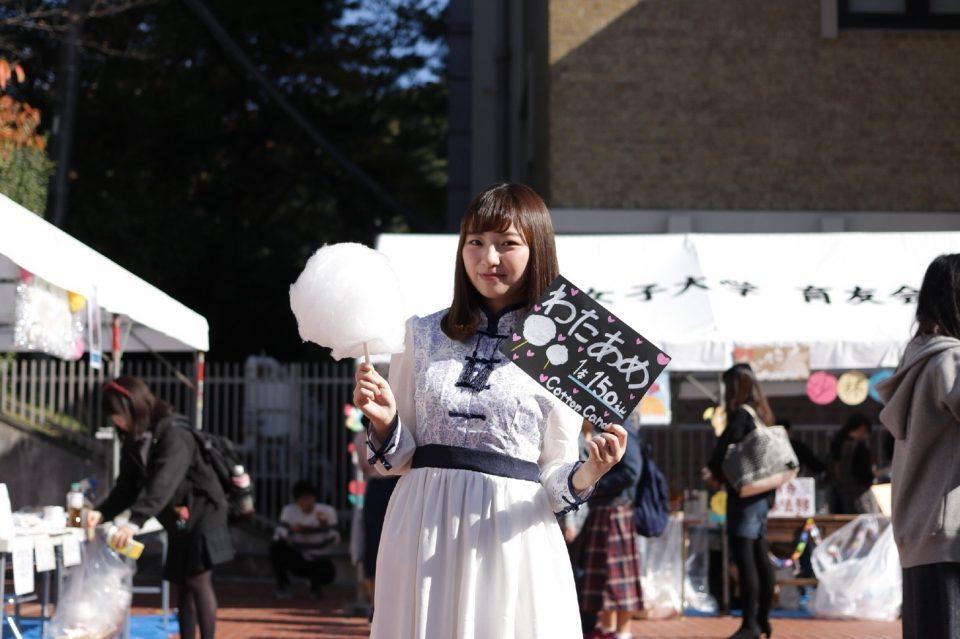 京都女子大学ユニドル「Cotton Candy」の大田奈々花さん
