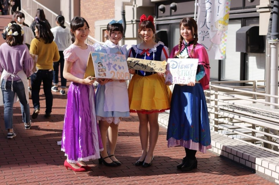 京都女子大学ソフトテニス部の学生