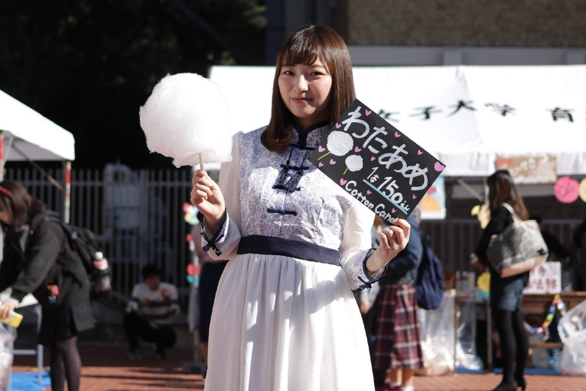 【藤花祭2017】京都女子大学の学園祭で、売り子スナップ撮ってきた