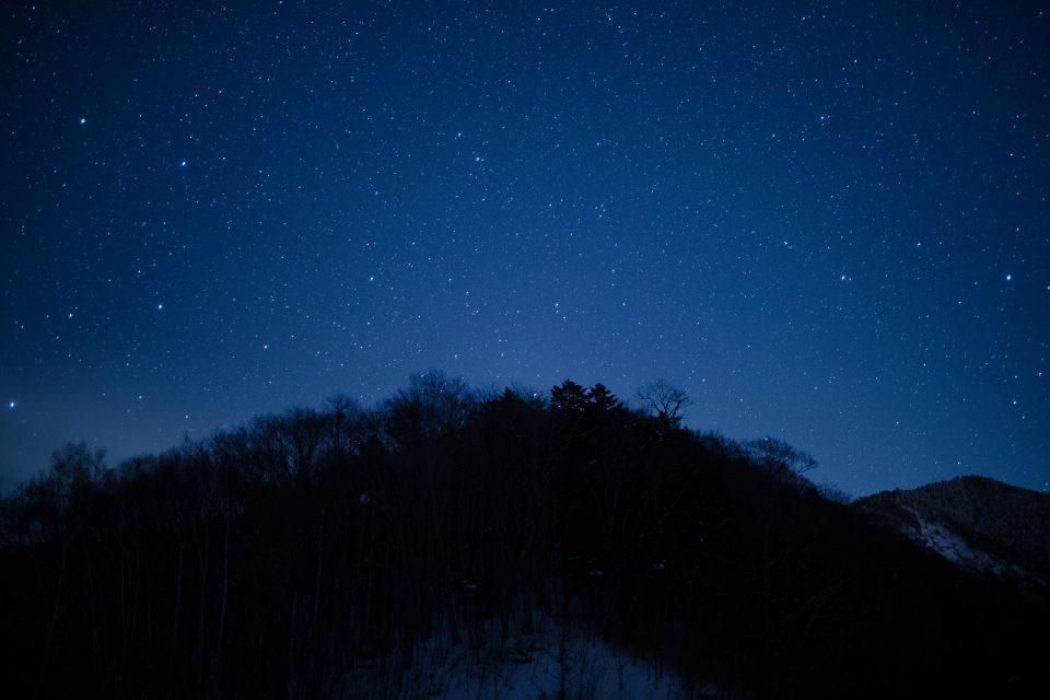 筆者が受験期によく見上げた星空