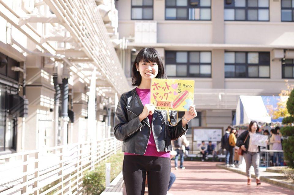 京都女子大学陸上部の学生