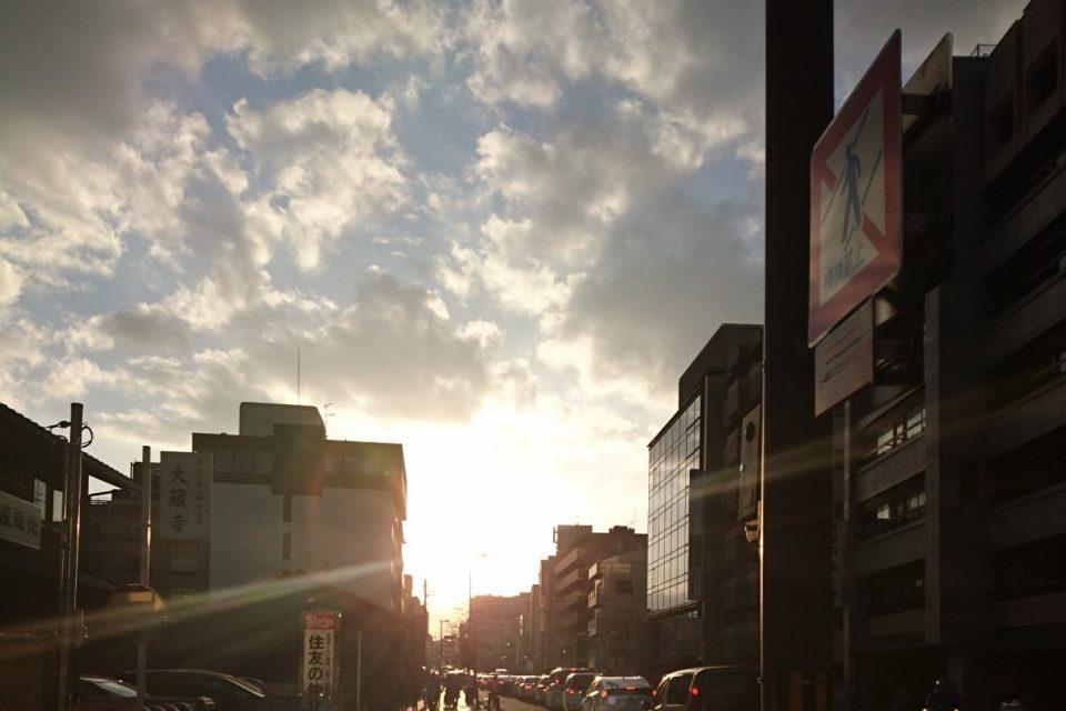 筆者が撮った京都の風景