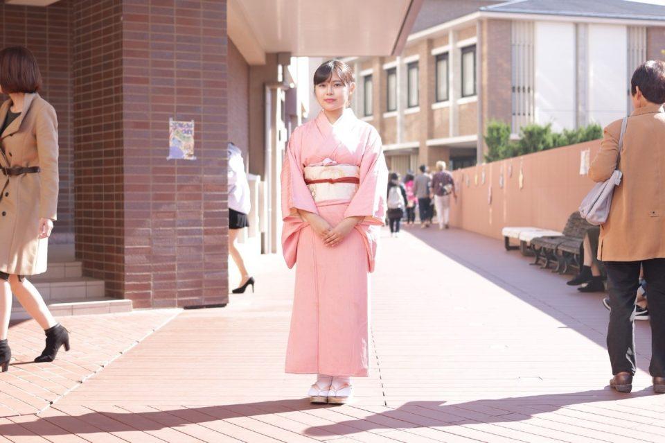 京都女子大学茶道部の伊藤あやかさん