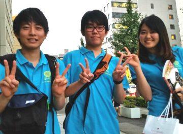 京都学生広報部で活動する筆者