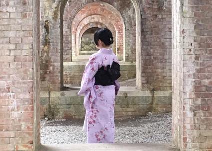 着物と南禅寺