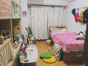 女子大生の部屋
