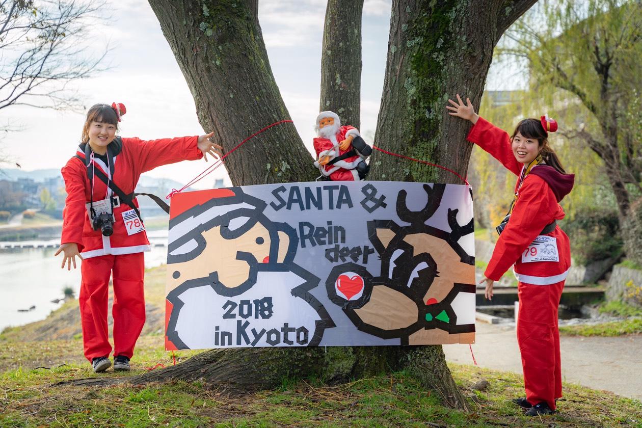 【クリスマスの風物詩】「サンタマラソン鴨川」が楽しすぎた件