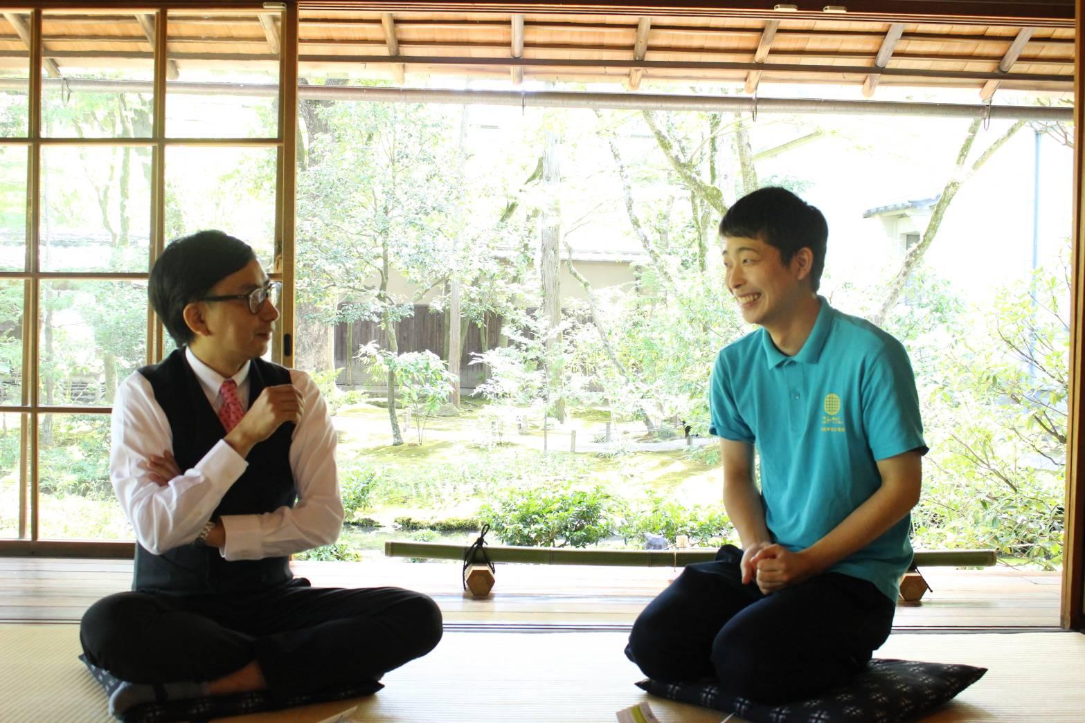 京都学生広報部員が芸人・おいでやす小田に京都愛をぶつけてみた